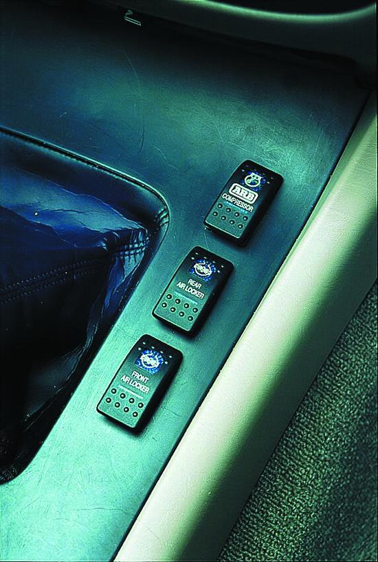 Airlocker RD 152 > TOYOTA->LC HZJ105, solid axle->ARB - air locker