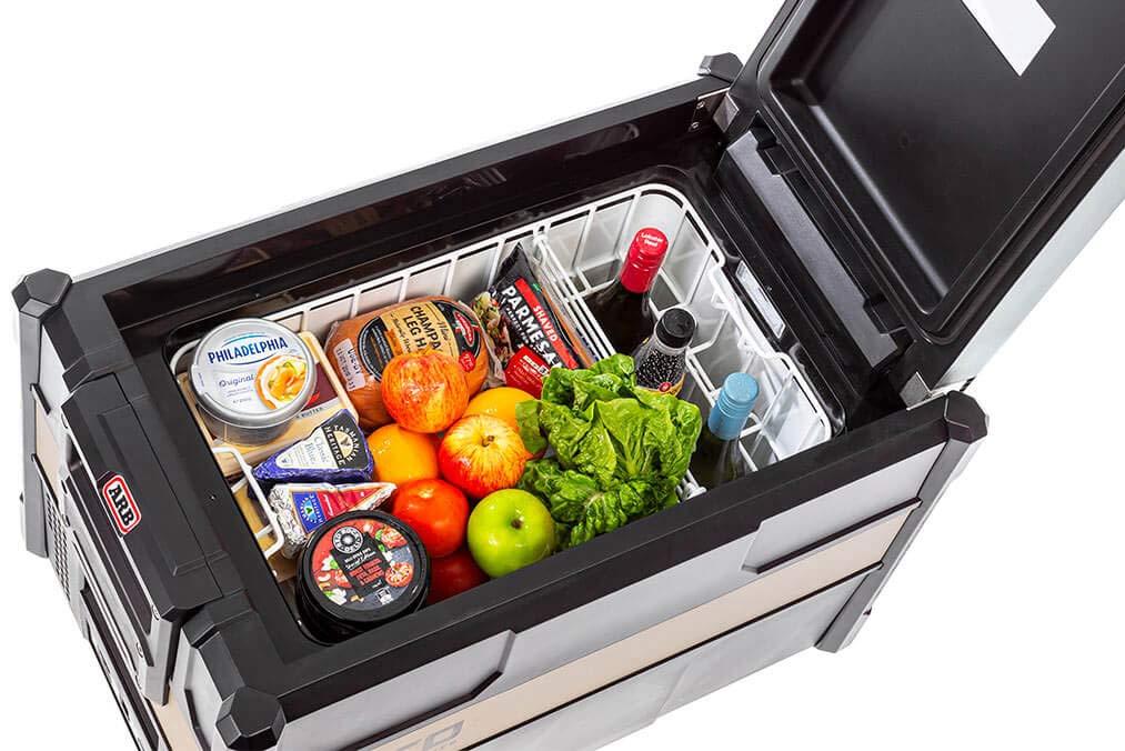 ARB Zero Single Kühlbox voll gefüllt zum Kühlen