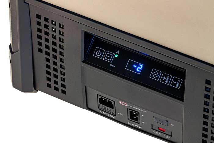 Bedienungspanel einer ARB Zero Single Kühlbox