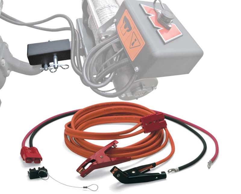 Seilwindenadapter für Anhängekupplung