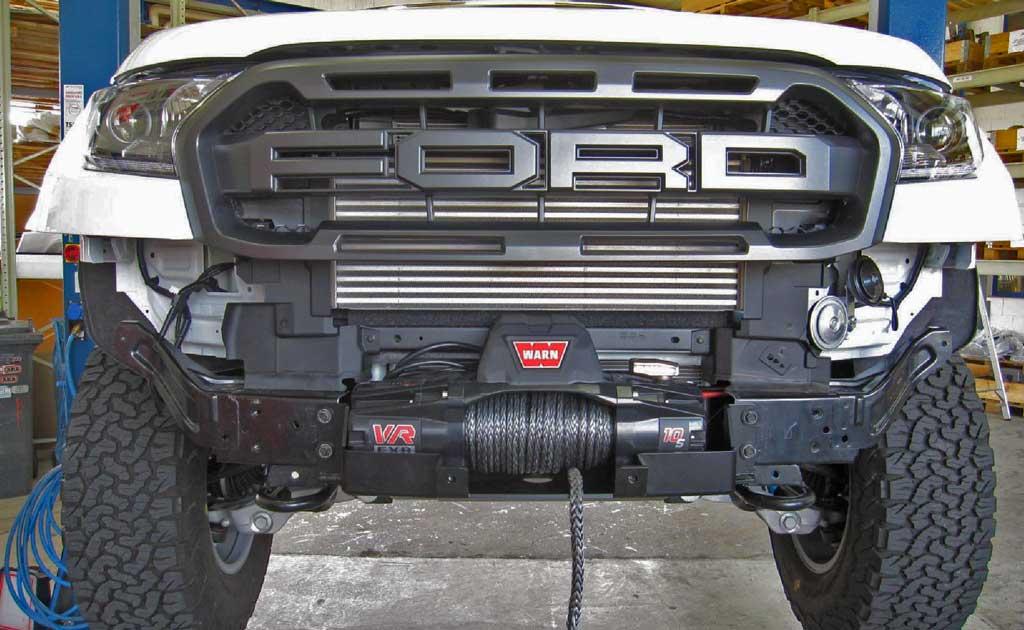 Ford Ranger Raptor Seilwindenanbausatz