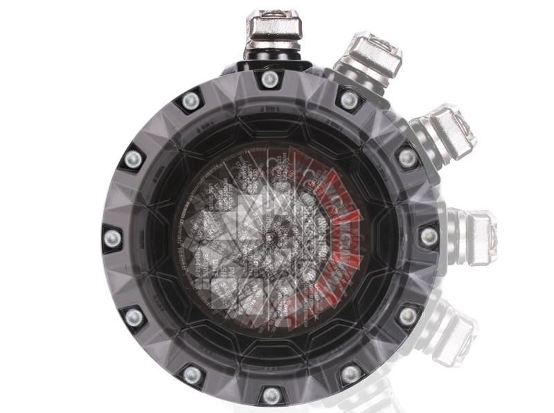 Getriebegehäuse der Serie G2 Seilwinde