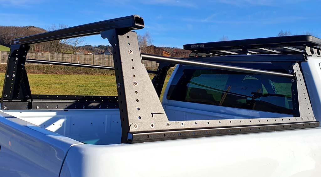 Muli-Rack Lastenträger über Pickup Ladeflächen von Taubenreuther