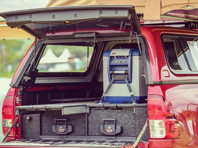 Schubladen für Ladefläche Toyota Hilux
