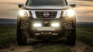OSRAM LED am Nissan NP300