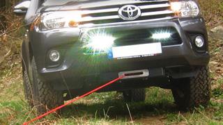 OSRAM LEDs am Toyota Hilux
