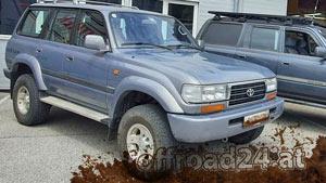 Toyota Land Cruiser Umbaubeispiel J8